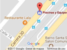 Google Map de Equipos y Piscinas